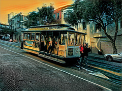 Powell - Hyde Cable Car (East of 29) Tags: sanfrancisco cablecar powell hyde prisma lilly grandpa sliders sunday