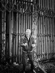 Belfast (puliMexNed) Tags: belfast ireland man blackandwhite oldman teller history troubles