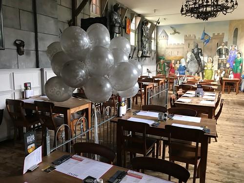 Heliumballonnen 25 Jaar Zilver