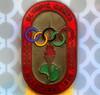 1956 Olympic Rings CONNECTED....Macro Mondays (Lani Elliott) Tags: macro upclose close closeup macrounlimited badge officialsbadge olympicgames 1956melbourneolympicgames macromondays connection fantastic superb excellent beautiful brilliant wonderful