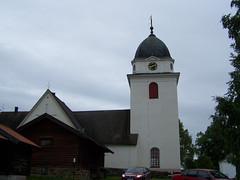 Rättviks kyrka (tompa2) Tags: kyrka bil rättvik dalarna sverige sweden kyrktorn
