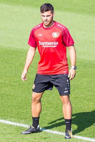 Kevin Volland beim Training - Bayer 04 Leverkusen