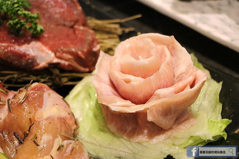 原月日式頂級帝王蟹吃到飽板橋燒烤吃061