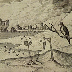 BOSCH Jérôme (d'Après Suiveur),1561 - La  Tentation de Saint Christophe, Estampe de Van Doetecum (Bruxelles) - Detail 24 thumbnail