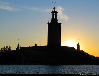 Stockholms Stadshus @ Sunset, Stockholm, Sweden