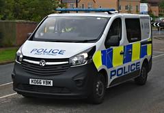 KO66VBM (Cobalt271) Tags: ko66vbm northumbria police vauxhall vivaro 16 cdti biturbo response van proud to protect livery