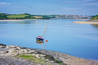 The Camel Estuary - Padstow, Cornwall.