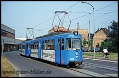 889-1994-07-17-Mansfelder Straße (steffenhege) Tags: hallesaale tram strasenbahn streetcar gt4 889
