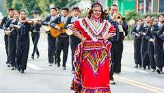 Fiestas Patrias 2017-being watched over-6736 (gabrielaquintana1) Tags: fiestaspatrias dancinshorses lowriders mariachis motorcycles parade