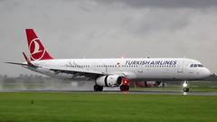 Airbus A321-231 c/n 6990 Turkish Airlines registration TC-JTG (sirgunho) Tags: amsterdam airport schiphol aircraft holland the netherlands polderbaan tcjtg turkish airlines airbus a321200 a321 a321231 cn 6990 registration