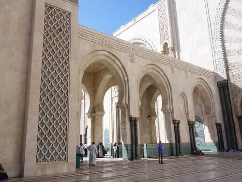 La mosquée Hassan II (2)