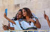 Happy New (Jewish) Year! (ybiberman) Tags: israel jerusalem citycenter ethiopianchurch women young selfie smartphone camera rings earrings noserings necklace portrait candid streetphotography