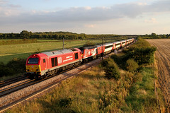 67028 1S20 Bolton percy 19.09.2017 (Dan-Piercy) Tags: dbcargo skip class67 67028 vtec hst class43s 43274 43308 boltonpercy bridge33 1s20 london kingscross aberdeen virgin eastcoast service ecml