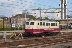 15.09.2017; Bijzondere gast (chriswesterduin) Tags: venlo br110 loc locomotief station gare bahnhof trein train