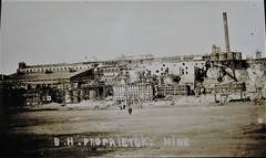 Broken Hill Proprietary Mine, Broken Hill, N.S.W. - very early 1900s (Aussie~mobs) Tags: bhp brokenhill mining newsouthwales vintage australia mine