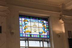Glass Window Kiev Post Office (Ray Cunningham) Tags: stained glass windows kiev post office укрпошта київ киев україна