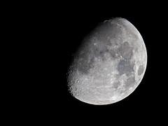 Waxing Gibbous Moon (Brian E Kushner) Tags: september 2017 september2017 waning gibbous waninggibbous moon astronomy astrophotography newjersey audubon nikond850 d850 nikon nikonafsnikkor800mmf56efledvrlens afs nikkor 800mm f56e fl ed vr lens tc800125e tc800125eed