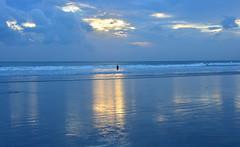 sunset with refrection (ekato gifu) Tags: bali kuta subset ebbtide refrection