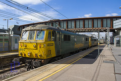 86612 leads 86605 through Stratford (London) on 4L89 Coatbridge F.L.T. to Felixstowe North F.L.T. on 5th August 2017 (hetsc68) Tags: 2017 summer railways trains august 05082017 england stratford london freightliner class86 86612