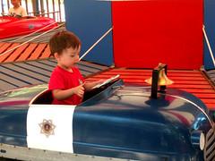 July 30: On the Little Putt Putt (earthdog) Tags: 2017 lgenexus5x lge nexus 5x androidapp moblog cameraphone sanjose happyhollow happyhollowzoopark hhzp kelleypark walkingdistance themepark amusementpark ride amusementride project365 3652017