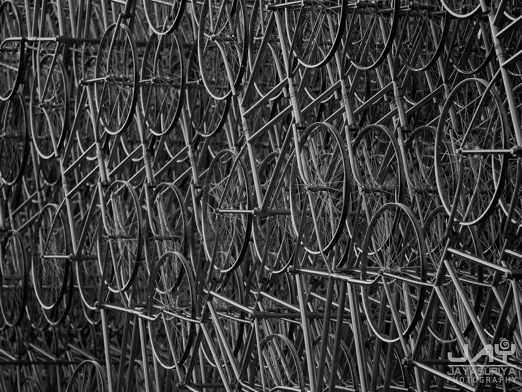 #ForeverBicycles - @JayJayasuriya.info (@JayJayasuriya) Tags: bicycles art installation