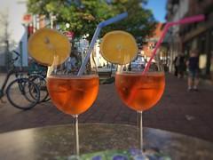 Sunday Summer Evening in Gifhorn (Sockenhummel) Tags: aperol aperolspritz cocktail aperitif getränk iphone6 explorer explored inexplore fluidr todaysexplore explore