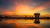 20170725-009a-Corroboree Billabong Sunrise - D7200-Pano-2.jpg (Brian Dean) Tags: corroboreebillabong 2017tour austgeo sunrise nt caravaning pano slideshow beautynaturepending beautynatureposted