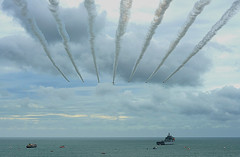 Just a week to go... (SteveJM2009) Tags: redarrows raf display bournemouth airfestival 2016 hawk speed smoke summer august stevemaskell bmthairfest explored
