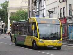 NCT 363 YJ12GYX Upper Parliament St, Nottingham on 70 (1280x960) (dearingbuspix) Tags: 363 7071 nottinghamcitytransport yellowline 7071yellowline yellowline7071 yj12gyx