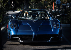 Roadster (Hunter J. G. Frim Photography) Tags: supercar carmel monterey 2017 car week carweek pagani huayra v12 turbo italian carbon wing blue red paganihuayra twinturbo roadster convertible paganihuayraroadster hypercar