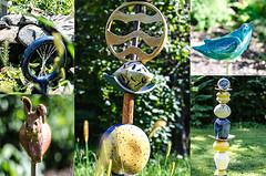 # 34 / 52, Terre (Frïsettes) Tags: terre terrecuite poterie pottery raku faconnage tournage argile glacage cuisson artisan artcraft lapin oiseau fontaine starmand frelighsburg workshop artist