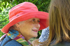 Portrait woman wearing hat Flower Piano Event Botanical Garden San Francisco's Golden Gate Park 170721-133628 C4 (Charlie Wambeke Photography) Tags: womanwearinghat portrait portraitofface portraitofawoman colorfulscarf goldengatepark sanfranciscobotanicalgarden botanicalgarden charliewambekephotography charliesphotoart charliewambekephoto charliewambekephotograph charliesphotoartcom canonpowershotsx50photograph canonsx50photograph canonsx50photo wambekewambekephotographyarttextiles wambekewambeke wambekeandwambekephoto wambekeandwambekephotography wambekewambekephotographyquiltingspecialists person people