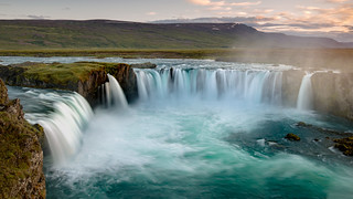 Goðafoss is one of the most spectacular waterfalls in Iceland