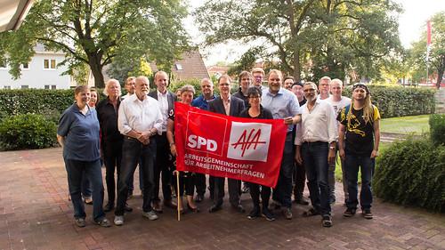 Neugründung der SPD-Arbeitsgemeinschaft für Arbeitnehmerfragen (AfA) Oldenburg-Stadt.