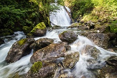 Falls (Howie Mudge LRPS BPE1*) Tags: landscape nature ngc nationalgeographic photo photograph photography photographer longexposure water cascade falls waterfall trees woods forest woodland rocks boulders summer 2017 gwynedd wales cymru uk polarizer outside outdoors polariser light shade travel travelling traveller greatoutdoors canon canoneos80d efs1018mmf4556isstm