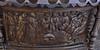 Hildesheim, Niedersachsen, Kirche zum heilgen Kreuz, baptismal font, cuppa, detail (groenling) Tags: hildesheim niedersachsen deutschland germany hi de kirchezumheilgenkreuz kreuzkirche heiligkreuzkirche font taufe taufbecken baptismalfont pelckinck cuppa bronze metal metall