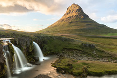 Honey River (Fabian Fortmann) Tags: kirkjufell kirkjufellfoss iceland vacation summer waterfall mountain landscape sunset
