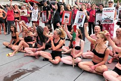 P1020704 (www.deshommesetdesanimaux.fr) Tags: corrida anticorrida nocorrida stopcorrida barbarie cruauté paris 269lifefrance
