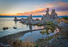 Mono Lake Sunset (Mimi Ditchie) Tags: easternsierra lake monolake sunset tufa tufas shoreline clouds southtufa getty gettyimages mimiditchie mimiditchiephotography