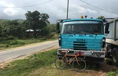 Myanmar, Tanintharyi Region, Dawei District, Thayetchaung Township, Min Dat Village Tract, Thein Kone Village (Die Welt, wie ich sie vorfand) Tags: myanmar burma truck trucks cycling bicycle sepeda surly crosscheck tatra 815 t815 tanintharyiregion tanintharyi daweidistrict dawei thayetchaungtownship thayetchaung mindat theinkone
