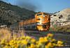 A Perfect Morning in Spanish Fork Canyon (jamesbelmont) Tags: trains locomotive railroad railway emd f9a riograndezephyr drgw 5771 streamliner spanishforkcanyon utah passenger train