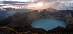 The Mysterious Kelimutu (Thibaud Chanfray) Tags: kelimutu flores lake volcano mountain volcan active sacred moni landscape nikon sunrise