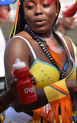 DSC_2129a Notting Hill Caribbean Carnival London Exotic Colourful Yellow and White Costume Showgirl Performer Aug 28 2017 Stunning Lady (photographer695) Tags: notting hill caribbean carnival london exotic colourful costume showgirl performer aug 28 2017 stunning lady yellow white