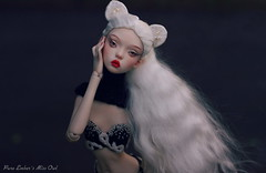 Peripheral (pure_embers) Tags: pure laura embers bjd doll dolls england uk girl popovysisters popovy sisters littleowl little owl pureembers embersowl missowl embersmissowl photography photo ball joint resin portrait fine art white kitty wig eclipse21 ghostly