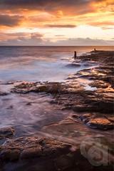 Troon Ballast bank (Ayrshire & Arran Photo (Richard Cottrell)) Tags: sunset scotland ayrshirecoast ayrshire longexposure ballastbank troon coast sky seascape