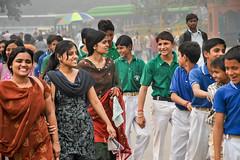 Boys & Girls, Delhi (Valdas Photo Trip) Tags: india delhi people streetphotography