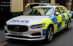 KO66 NXZ (Ben - NorthEast Photographer) Tags: city london police colp volvo v90d5 traffic car demo demonstrator rpu roads policing unit patrols 999 emergency vehicle ko66nxz