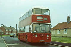 SCARLET BAND JSC855E IS SEEN AT BOWBURN ON SERVICE 54 (47413PART2) Tags: jsc855e scarletband bus