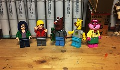 """"""". . . What are you doing here?"""" (Lord Allo) Tags: lego netflix bojack horseman todd chavez diane nguyen mister mr peanutbutter princess carolyn"""