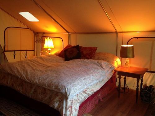 Glamp richard bed 1